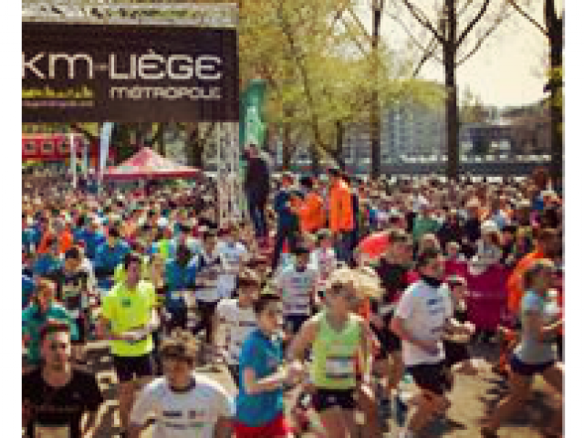 15km Liège metropole (voorjaar)