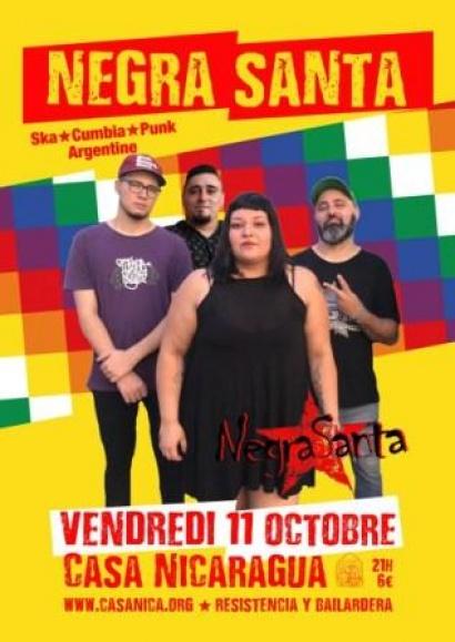 Concert: Negra Santa